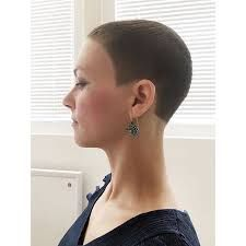 Výsledek obrázku pro super short womens clipper haircut