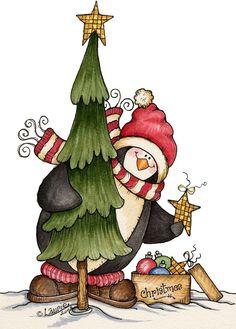 Christmas penguin christmas tree with christmas gifts PNG and PSD Christmas Bird, Christmas Drawing, Christmas Paintings, Christmas Clipart, Christmas Animals, Christmas Paper, Christmas Printables, Christmas Pictures, Winter Christmas