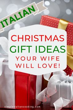 Creative and unique Italian gift ideas for the special women in your life! Whether your wife, girlfriend, mother or even sisters, here are some Italian-inspired ideas perfect for Christmas! Inexpensive Christmas Gifts, Christmas Gifts For Friends, Gifts For Family, Holiday Gifts, Christmas Recipes, Christmas Time, Deployment Gifts, Gift Guide For Him, Italian Christmas