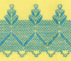 When my grandmother died about ten years ago, she left me a box of embroidered towels - several pairs in beautiful colors. I  never really k...