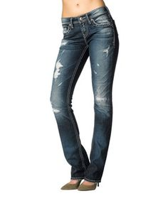 Another great find on #zulily! Blue Torn Aiko Baby Bootcut Jeans - Women by Silver Jeans Co. #zulilyfinds