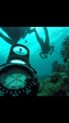 Safety stop scuba diving