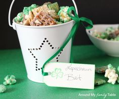 Leprechaun Bait...set it out before bed on the Mar 16th and hope you catch a leprechaun for St. Patrick's Day!