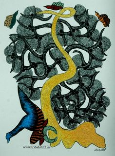 Gond Tribal Art (India)