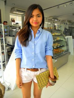 Menswear, chambray shirt, accessories, summer outfit, summer look