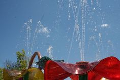 Get soaked at one of our Splash Pads.