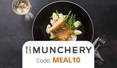 Munchery Promo Code: Use code MEAL10 for $10 off your first meal delivery from Munchery. That's a free meal!