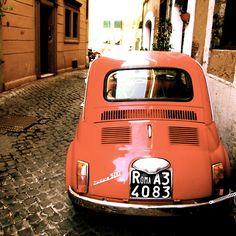 Roma Fiat 500.