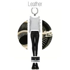 """Leather"" by nymphofrock on Polyvore 