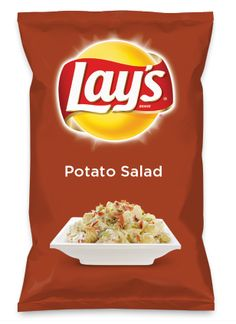 Wouldn't Potato Salad be yummy as a chip? Lay's Do Us A Flavor is back, and the search is on for the yummiest flavor idea. Create a flavor, choose a chip and you could win $1 million! https://www.dousaflavor.com See Rules.