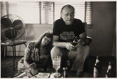 Bukowski in Star Wars t-shirt