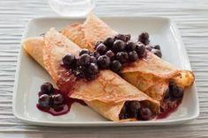 Blueberry crepes - Ray Kachatorian/Photodisc/Getty Images