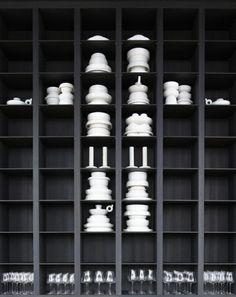 nichos colocação de peças