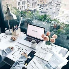 Amazing view and working space