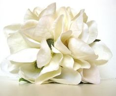 Magnolia Bridal Bouquet and Boutonniere by..http://www.etsy.com/shop/emilywootton $75.00