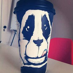 15 Incredibly Creative Examples Of Coffee Cup Art