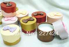 Free Shipping 24pcs 55mm Mix Colors Icecream Box Shape Ring Gift Boxes/Jewelry Boxes #90317-in Gift Boxes from Jewelry on Aliexpress.com
