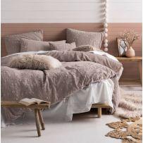 Linen House Abigail Pink Queen Quilt Cover Set
