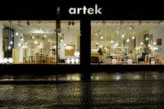 1,000 Places to See Before You Die.  Artek, Eteläesplanadi 18 00130 Helsinki Finland.  Flagship store of Alvar Aalto in the Design District.