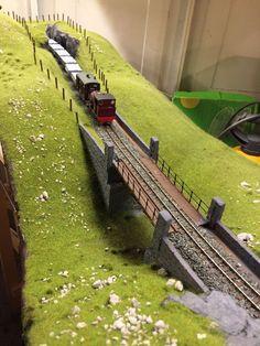 Clyre Valley Railway of T. Couling 2017-10 #modelrailway #modeltrainbridges