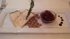 """Cheese from """"Thurgau"""" with fig mustard @ Restaurant Baccara"""