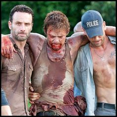 Daryl Dixon (Norman Reedus), Rick Grimes (Andrew Lincoln), and Shane Walsh (Jon Bernthal). The three best reasons to watch TWD.