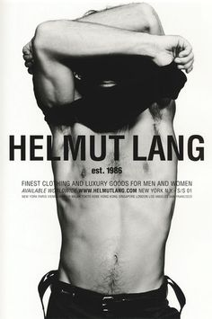 helmut lang campaign Helmut Lang Menswear advertisement, When Love Comes to Town s/s 2001 Photo: Inez van Lamsweerde and Vinoodh Matadin Helmut Lang, Fashion Advertising, Advertising Campaign, Poses, Viviane Sassen, Mode Lookbook, Madrid, Fashion Photography Inspiration, Vintage Mode