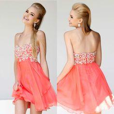 8th Grade Promotion Dresses Hot Pink 7