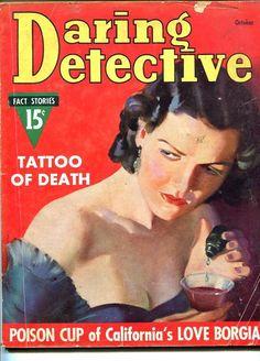DARING DETECTIVE-OCTOBER 1937-eBay