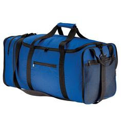 Port Authority Royal Blue Packable Travel Duffel 18cfbe5cdfdf1