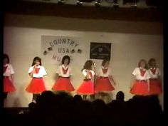 Braxton County Cloggers WV - County Music USA Ohio 1990 Part 11