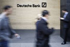 Deutsche Bank is one of the large banks in Europe that might be…