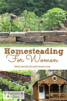 Homesteading for women welcome, Herb and vegetable gardens, herbal remedies, chickens and more.