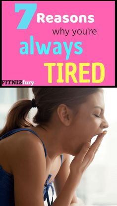 Dragging yourself through the day? Feeling sluggish and lethargic? Here are 7 reasons why you're always tired and how to fix this. Best Workout Plan, Workout Plan For Beginners, Workout Plan For Women, Workout Plans, Im Always Tired, Feel Tired, How To Get Energy