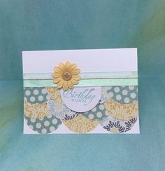 Birthday Card for Her Paper Handmade Greeting by byLisaCardsCrafts  $4.25  https://www.etsy.com/listing/263996287/birthday-card-for-her-paper-handmade