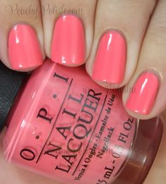 OPI: Coca-Cola Collection - Sorry I'm Fizzy Today