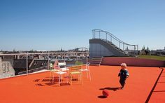 Terrifyingly Cool Rooftop Playground - My Modern Met