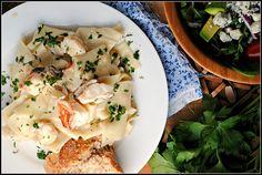 Creamy Lobster Pappardelle + Weekly Menu
