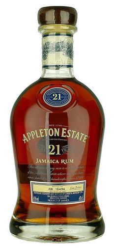 Appleton Estate Aged 21 Years by Jamaica Alcohol Bottles, Liquor Bottles, Rum Bottle, Whiskey Bottle, Appleton Estate, Good Rum, Spirit Drink, Bottle Packaging, Wine And Spirits