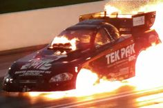 Wild Ride, Explosion of Nitro Funny Car, Safety has come a long way..