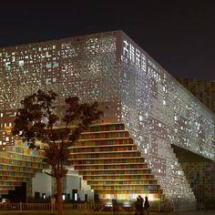 Pavilhao da Republica da Coreia na Expo Changai, 2010.  Fotografia: Mass Studies.