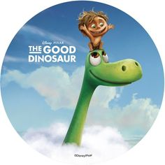 The Good Dinosaur Sugar Plaque - Arlo & Spot Clouds Arlo Und Spot, Dinosaur Printables, The Good Dinosaur, Dinosaur Party, Decoupage, Disney Pixar, Clouds, Good Things, Toilet