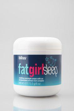 bliss FatGirlSleep Cream Online Only
