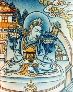 King Trisong Deutsen. Tibetan King at the height of power is moved by Buddhist teachings to invite Shantarakshita and Padmasambhava to help establish Buddhism Tibet. This becomes a major project involving hundreds of foreign scholars and the training of Tibetan translators and monks. A backlash from jealous Bonpos was inevitable but the king's efforts insured the spread of the doctrine in Tibet.