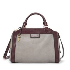 Meet your new best (bag) friend. Dressed in glazed pebbled leather in this season's subtle hues, our Logan large satchel is made for convertible weather. Its square(ish) design and stylish functionality—like a removable strap and pockets fit for an iPhone 6—make it the most practical bag around town.*Will be shipped separately from other products