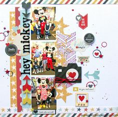 Ashley Horton Designs: Crazy Monday Kits | Hello Happy & Hey Mickey!
