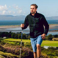 Portwest Allen Bonded Fleece - Black MP53 #portwest #westport #ireland #outdoor #mensfleece #microfleece #hiking #walking