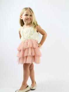 Charlotte Rosette Dress - Rocker by bébé