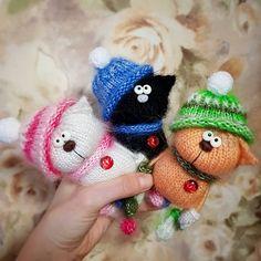 # toy # knitting toys # knitting # weamiguru # world_best_ideas # amigurumidoll # crochettoy Crochet Animal Amigurumi, Crochet Animal Patterns, Knitted Animals, Stuffed Animal Patterns, Amigurumi Patterns, Crochet Toys, Knitting Patterns, Easter Crochet, Crochet Bunny
