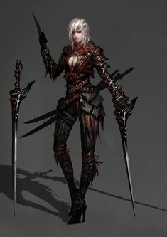 Move to Elderborn? Or is there a female assassin in Ghedris?